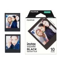 """Fujifilm Instax Square """"Black"""" fényes instant film 10lap/csomag"""