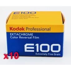 Kodak Ektachrome 100 135-36 professzionális fordítós (dia) film (10 tekercs/csomag)