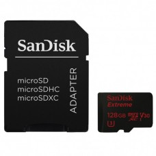 SanDisk (139763)  128 GB micro SDXC Extreme 90MB/s memóriakártya, + adapter+ Rescue Pro Deluxe