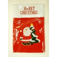 ZEP 16B3 karácsonyi piros zsák 26x37cm, (039518)