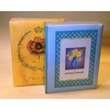 (KÉSZLETKISÖPRÉS, UTOLSÓ DARABOK) 9x13/200 könyvalbum (35200) többféle mintával 24 db/karton