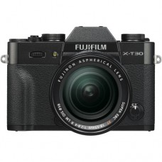 FUJIFILM X-T30 18-55mm Kit (fekete)