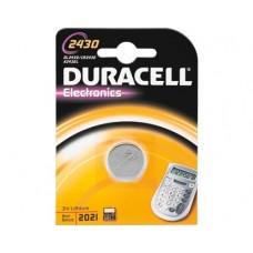 Duracell 2430 3V líthium elem