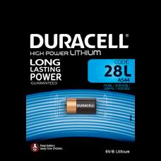 Duracell PX 28L 6V líthium elem (A544)