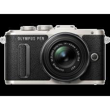 Olympus PEN E-PL8 1442IIR Kit fekete/fekete