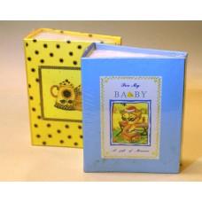 (KÉSZLETKISÖPRÉS, UTOLSÓ DARABOK) 9x13/100 könyvalbum (35100) többféle mintával 48 db/karton