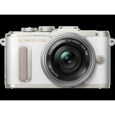 Olympus PEN E-PL8 1442IIR Kit fehér/ezüst