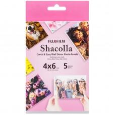Fujifilm Shacolla 10x15 cm kétoldalas öntapadó faldekorációs hablap 5db/csomag