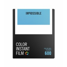 Impossible Color instant film Polaroid 600 8lap
