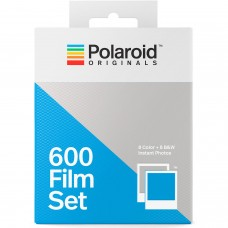 Polaroid Originals 600 Film Set ( 8 lap Color + 8 lap B&W )