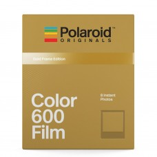 Polaroid Originals 600 Color 8 lap Metallic Gold Frame Edition