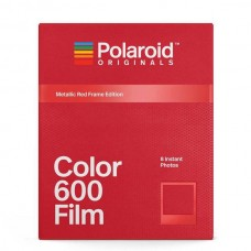 Polaroid Originals 600 Color 8 lap Metallic Red Frame Edition