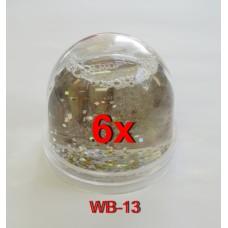 ZEP WB-13 hógömb 6,5x6,2cm 6db/karton