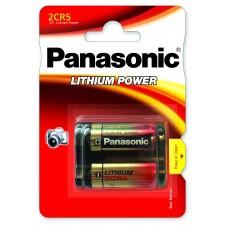 Panasonic Lítium  elem 2CR5 (6V)