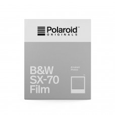 Polaroid Originals SX-70 B&W 8 lap fekete-fehér instant film (by Impossible)