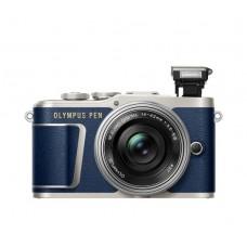 Olympus PEN E-PL9 Pancake Zoom Kit kék