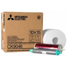 Mitsubishi CK9046 kioszk papír 10x15cm,papír+fólia,600 print/tekercs