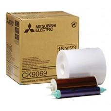 Mitsubishi CK9069 15x23cm papír+fólia 270 print/tekercs
