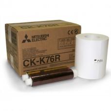 Mitsubishi CK-K76R kioszk papír 10x15/15x20cm,papír+fólia,640/320 print