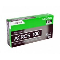 Fuji Neopan 100 ACROS 120*5 fekete-fehér negatív rollfilm csomag