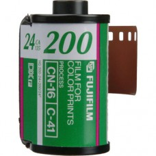 Fujicolor 200 135-24 színes negatív film kazettában papírdoboz nélkül