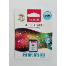 Maxell 8 GB SDHC memóriakártya Class4