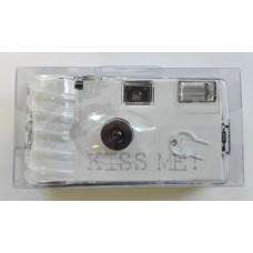 """""""Kiss Me"""" egyszerhasználatos vakus fényképezőgép 27 felvételhez"""