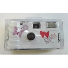 """""""Butterfly"""" egyszerhasználatos vakus fényképezőgép 27 felvételhez"""