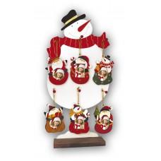 ZEP L932 fa karácsonyfadísz (képek mérete formától függően)