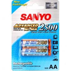 Sanyo 2500mAh Ni-Mh akku 2db/bliszter