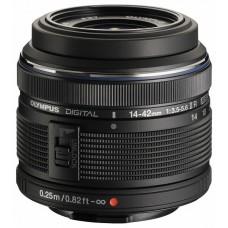Olympus M.ZUIKO DIGITAL 14-42mm 1:3.5-5.6 / EZ-M1442-2 R objektív fekete
