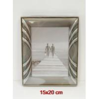 Gedeon fém képkeret 15x20 cm,többféle profilban (ezüst,óaran...