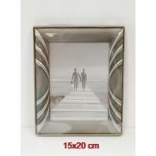 Gedeon fém képkeret 15x20 cm,többféle profilban (ezüst,óarany)