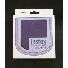 Fujifilm Instax mini 8 fényképezőgép tok grape polyester