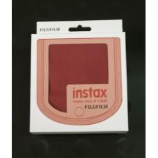 Fujifilm Instax mini 8 fényképezőgép tok málna polyester