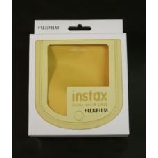Fujifilm Instax mini 8 fényképezőgép tok sárga polyester