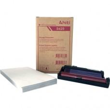 HITI hőpapír 50db/cs 10*15cm  S420/S400 sorozat (piros)
