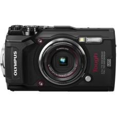 Olympus TG-5 digitális fényképezőgép (fekete)+Manfrotto Pocket mini állvány