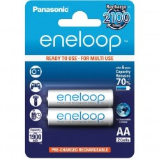 Panasonic Eneloop AA 1900mAh instant akku 2db/bliszter (BK-3MCCE/2BE)