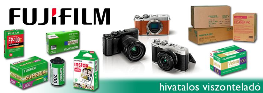 Fujifilm - hivatalos viszonteladó