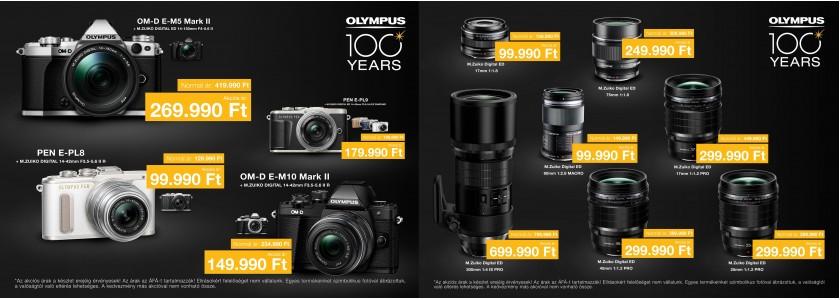 Olympus Fényképezőgép és Objektív Akció