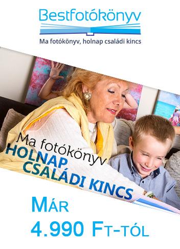 Bestfotókönyv - Ma fotókönyv, holnap családi kincs