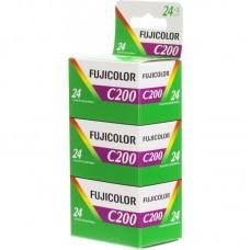 Fujicolor 200 135-24 2+1 színes negatív filmcsomag