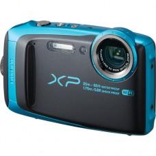 Fujifilm Finepix XP120 digitális fényképezőgép (sky blue,fekete)