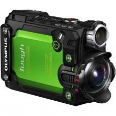Olympus TG-Tracker digitális fényképezőgép (zöld)