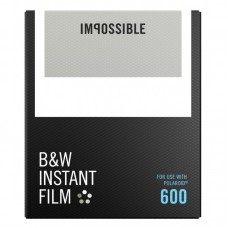 Impossible B&W  instant film Polaroid 600 8lap