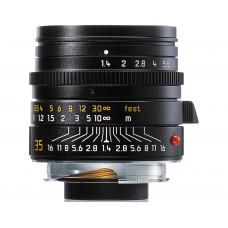 Leica Summilux-M 1:1,4 35mm Asph.objektív fekete