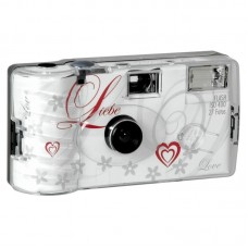 LOVE egyszer használatos vakus fényképezőgép 27 felvételhez