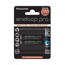 Panasonic  Eneloop Pro AAA 930mAh instant akkumulátor  2db/bliszter (BK-4HCDE/2BE)