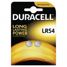 Duracell LR 54 1,5V alkáli elem 2 db/bliszter